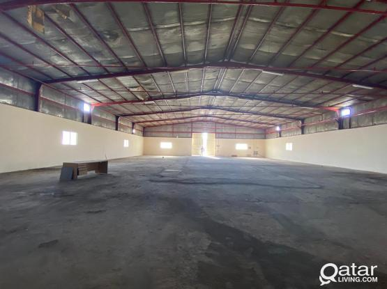 1600 SQMTR GENRAL STORE  FOR RENT IN INDUSTRIAL AREA