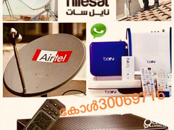 Airtel Satellite Dish Tv Technician
