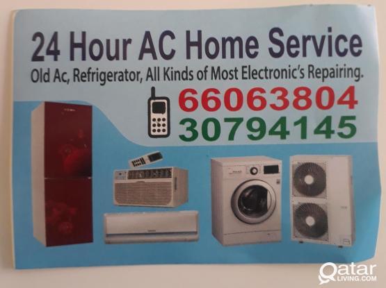 AC, fridge, washing machine repair and services. Please call 66063804/30794145