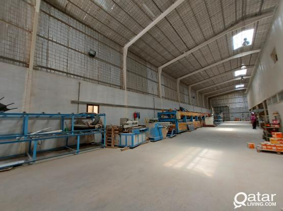 1250sqm store for rent industrial Area