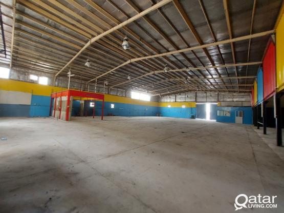 1500sqm garage & work shop for rent industrial Area