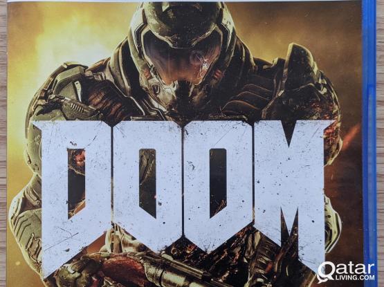 PS4 Games pack Doom / TT Rise on the Edge 2 / Warhammer 2