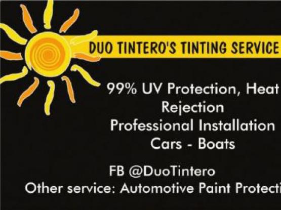 TINTING AND PAINT PROTECTION