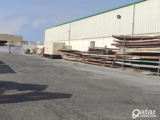 WORKSHOP FOR RENT IN INDUSTRIAL AREA  3850 SQMTR