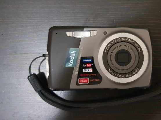 Kotak camera with accessories