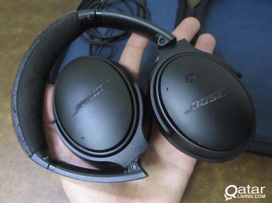 Bose qc25 noise canceling black edition headphones