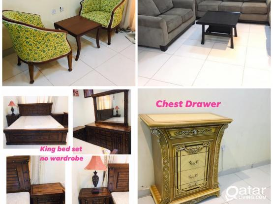 Villa Furniture items for sell