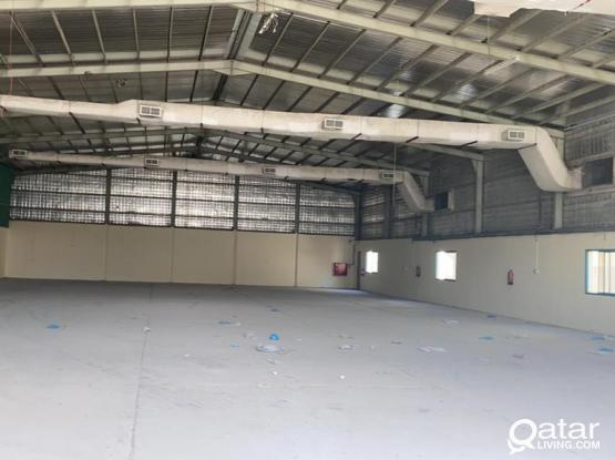 FOOD STORE 1000 SQUARE METER WITH 4ROOMS  FOR RENT IN INDUSTRIAL AREA