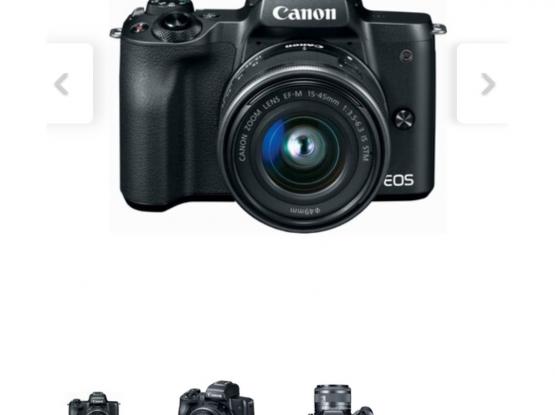 Canon Mirrorless Camera EOS M50 mark ii  15-45mm