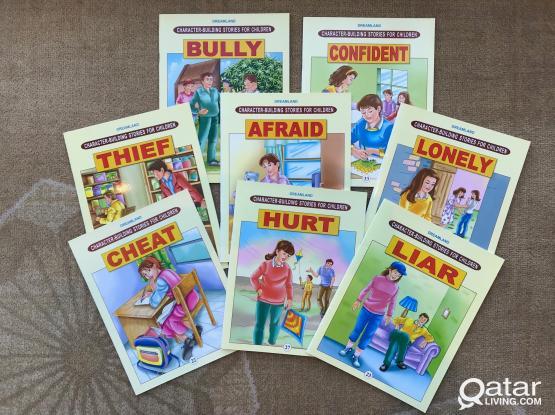 Kids Books – Dreamland Character Building Stories for Children – 8 Books