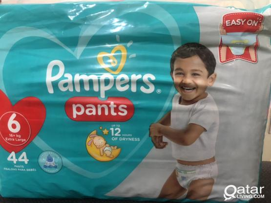 Pamper Pants Extra Large 16+ KG 44 Ps