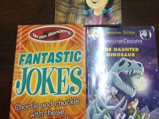 Geronimo Stilton, Sudha Murty And Jokes Books
