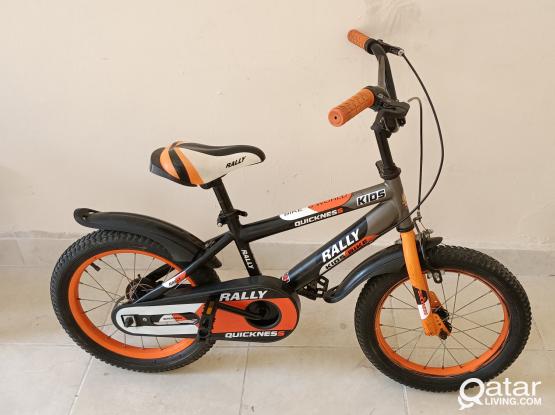 Rally bicycle for kids.