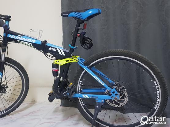Brand new conditioned foldable large bicycle