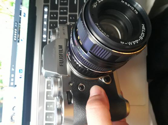 Fuji Fujifilm XT1 with Helios 44M-4