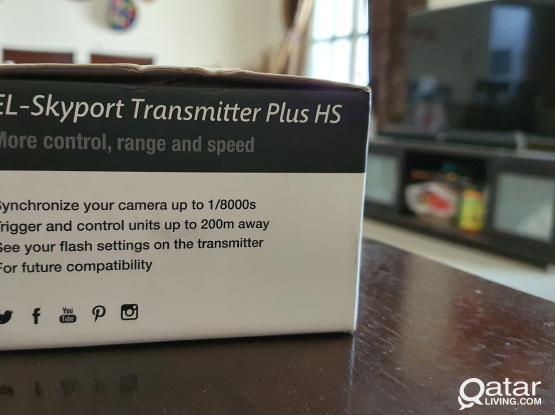 Elinchrom Transmitter plus for Sony cameras