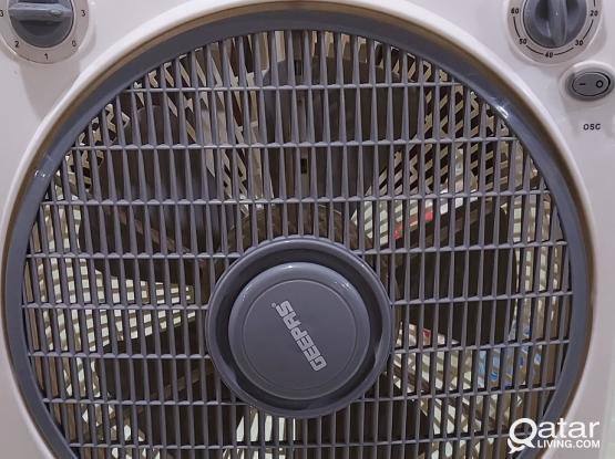 Geepas table top fan