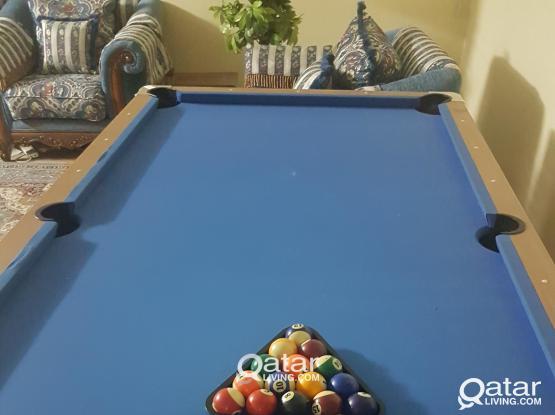 Billiard table perfect conditions