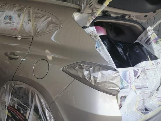 Car Painting, Denting, polishing