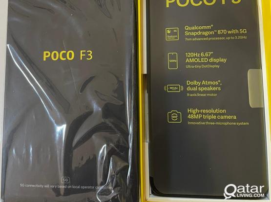 Xiaomi Poco F3,8gb/256gb,3 days used same new
