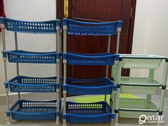 Storage kitchen racks