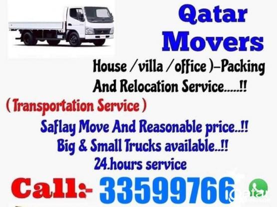 Doha Shifting moving Carpenter transportation company