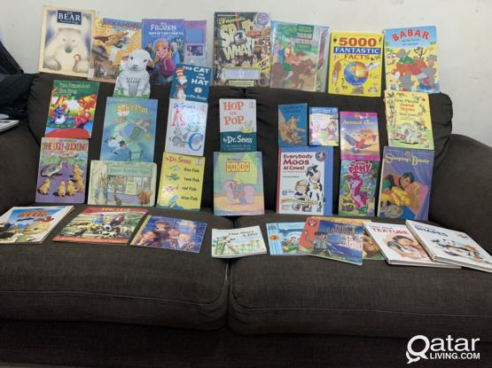Collection Of More Than 30 English Books For Kids