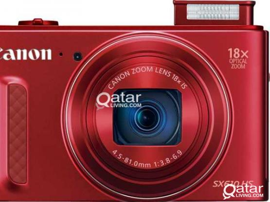 Canon PowerShot SX610 HS Wi-Fi - Red