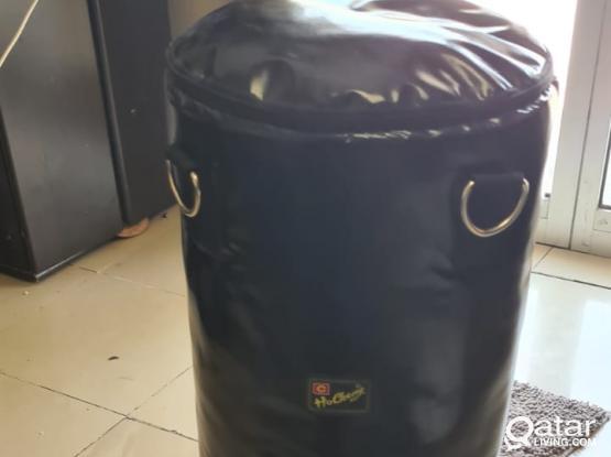 Black punching bag for sale