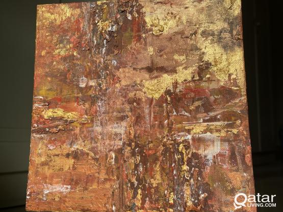 Sienna: Abstract Painting
