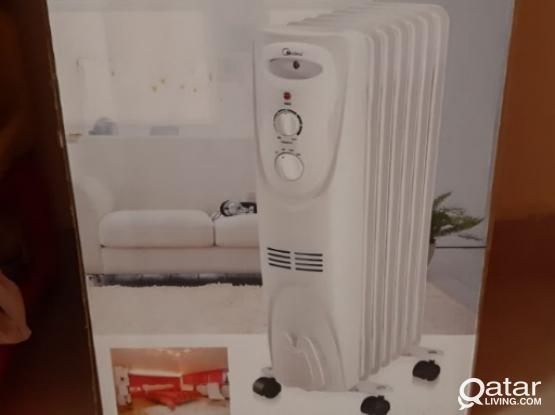 Oil Heater for Sale- only once used