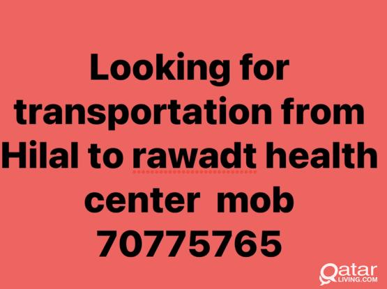 Looking For Transportation