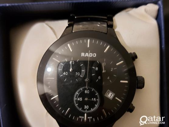 Rado Watch Black metal Great Condition..no whats app call directly