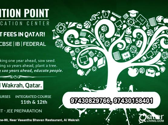 TUITION in Wakrah for class 1 to 12th All Boards.
