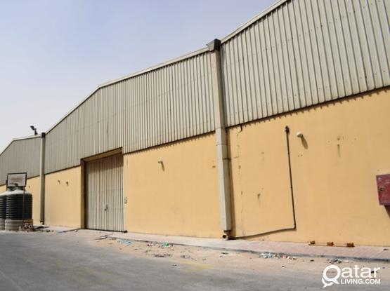 550sqm Food approved store