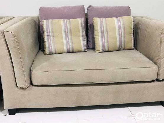 Home center 7 seater sofa set