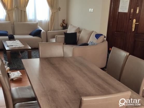 Bedroom set, sofa & dinning table etc