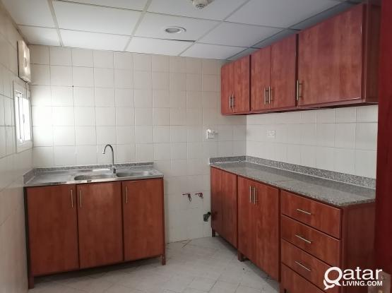 Unfurnished two bedrooms with air condition units provided.