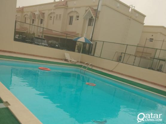 Attractive compound unfurnished apartment in Al Waab