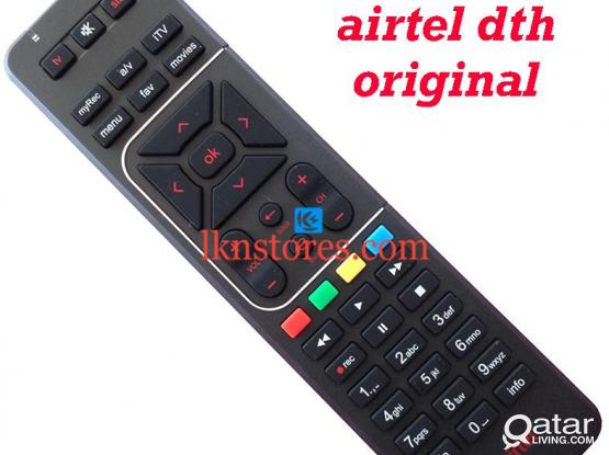 Airtel DTH remote control original 74748883