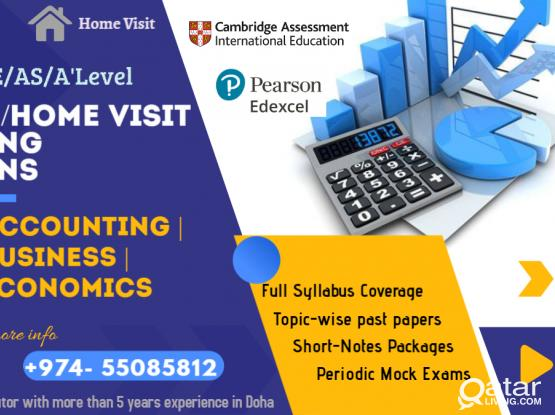 Accounting, Business and Economics Tuition