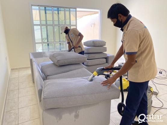 Sofa & Carpet cleaning,curtain,mattress cleaning,House cleaning.