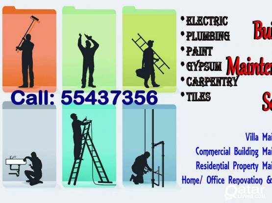 Best Quality Building Maintenance Service