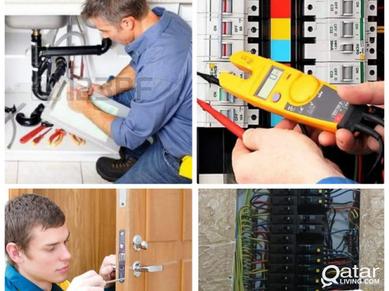 Plumbing  , electric  , carpenter 55034349