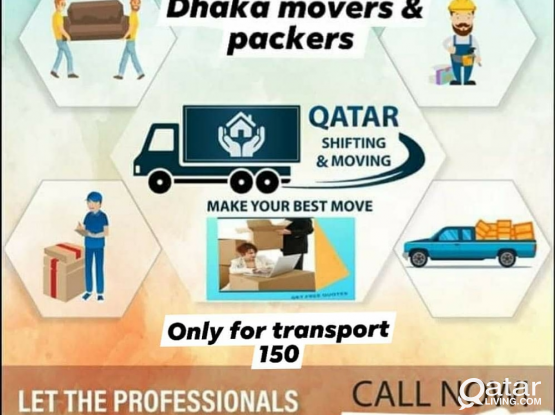 Moving, Shifting & Packing services. Swift and Safe. Please calml 50920136