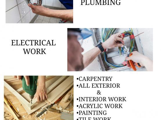 Mechanical Electrical & Plumbing maintenance