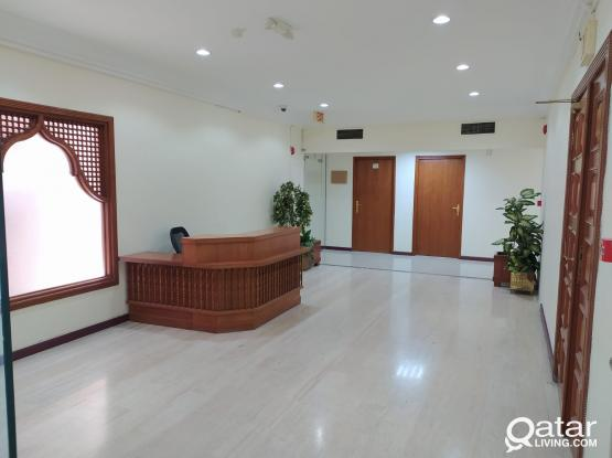 Small Independent office with Reserved parking in Al Sadd
