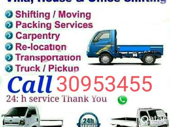 Good price- Moving shifting packing Carpenter transportation service please call me- 30953455