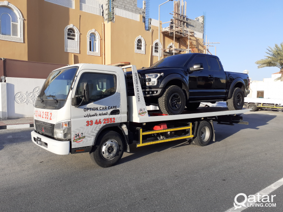 Tue service ( BREAKDOWN)  (سطحة) خدمة نقل السيارات