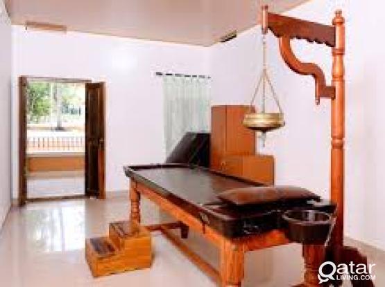Authentic Ayurvedic Kerala Herbal oil Massage